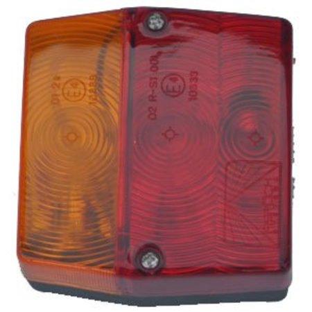 Aspock Minipoint - Achterlicht - 5 polig - Links/Rechts met kentekenverlichting