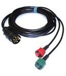 Radex Radex 3,5 meter 7-polig 2 connectoren