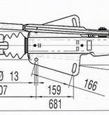 AL-KO Oplooprem 251S (2600 kg) V-dissel