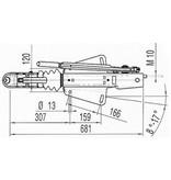 AL-KO Oplooprem 161S (1600kg) V-dissel