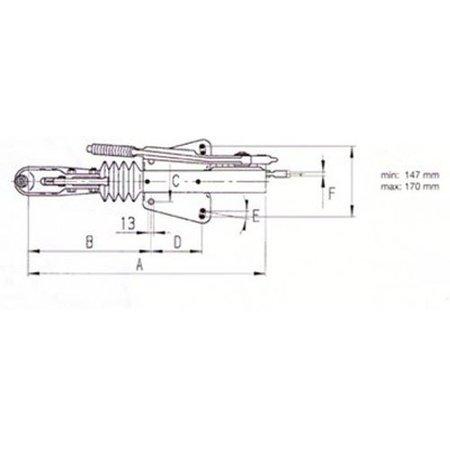 AL-KO Oplooprem 60S/2 (750kg) V-dissel