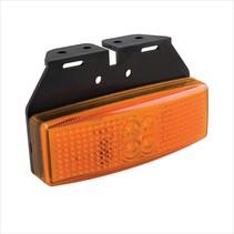 Zijmarkeringslamp LED - oranje/geel - losse draad
