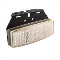 Zijmarkeringslamp Wit LED op houder
