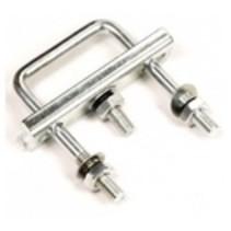disselklem vierkant (60mm) voor neuswielklem (48mm) ( 2 stuks)