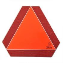 Markerings driehoek 36x41 cm - aluminium