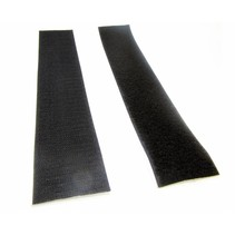 Klittenband zelfklevend  per meter (2-delig)