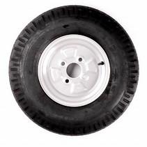 Wiel 5.20 -10  (4x100) 355kg 4PR Naaf 60 mm