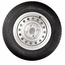 Kenda Compleet wiel 165R13C band +  velg (steek 4x100) 710kg