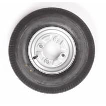 Vredestein wiel 4.00 - 8 4x115 335kg 6PR Naaf 85 mm