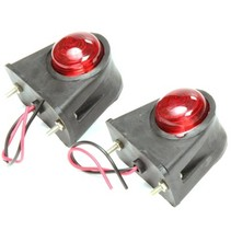 2 stuks Markeringslamp rood/wit