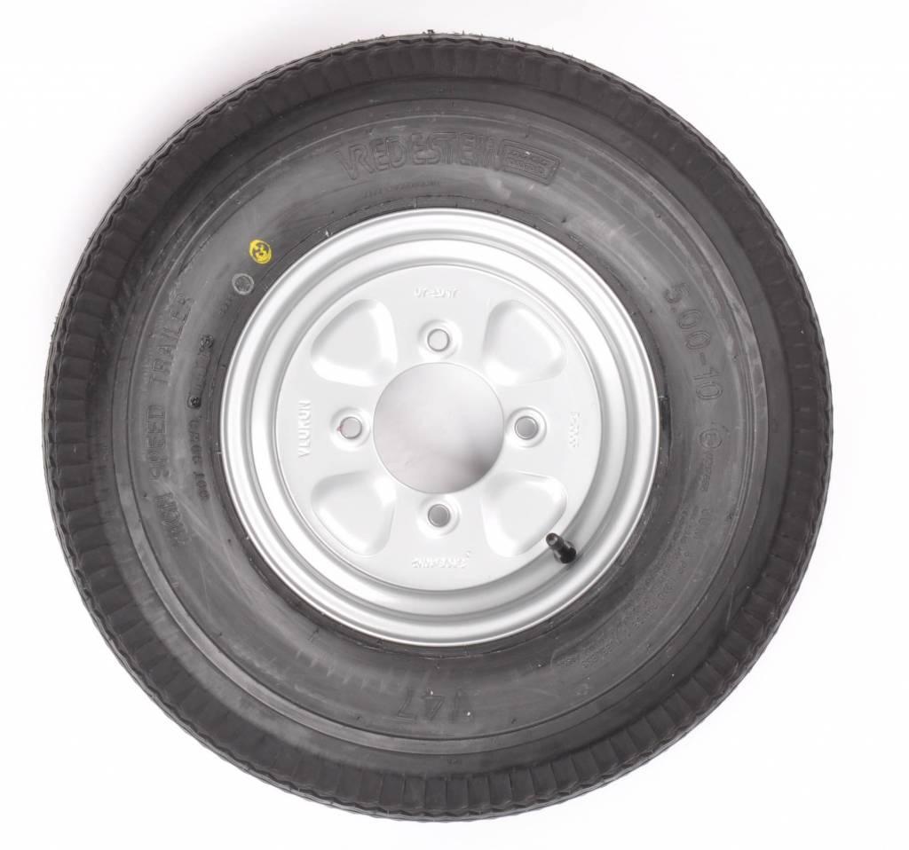 Vredestein Vredestein wiel 5.00 - 10 8PR 4x115 500kg V47 Naafdiameter 85 mm