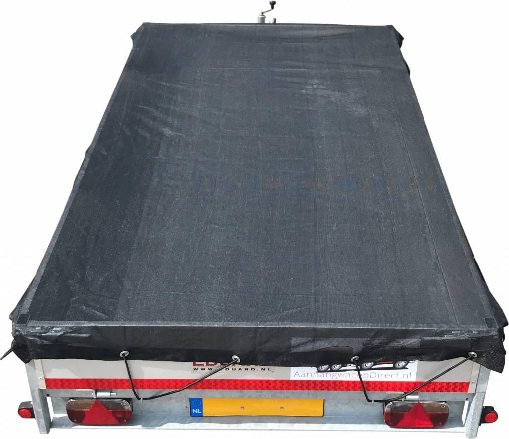 Premium gaasnet - 320x220 cm - inclusief elastiek rondom - UV bestendig - net voor aanhanger
