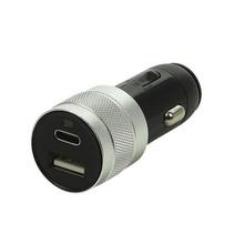 USB lader 2-weg 12V/24V  USB A & C