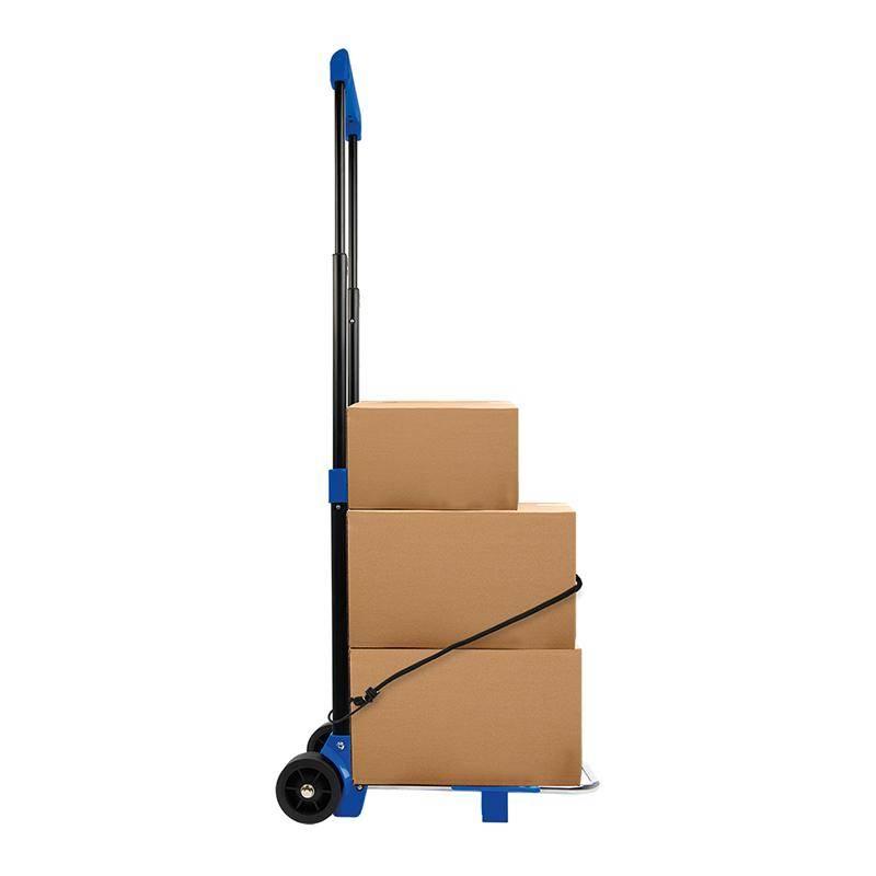 Transport trolley inklapbaar met elastisch koord 30 kg