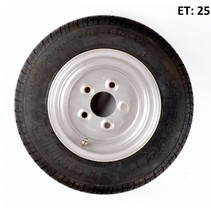 Wiel 195/55R10C (5x112) 750kg - 10PR - naaf 67 mm
