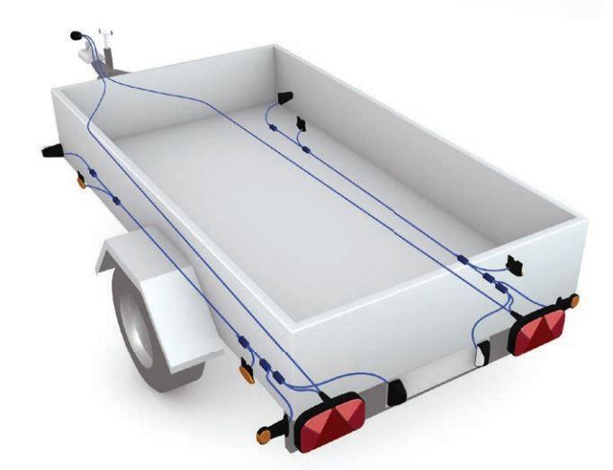 Led Lampen Aanhangwagen : Aansluitschema voor aanhanger verlichting aanhangwagendirect