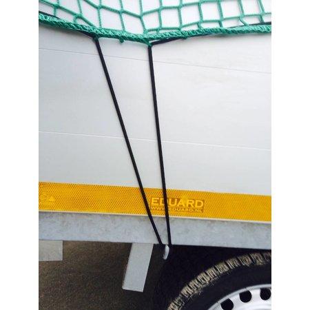 AWD Premium maasnet - 400x250 cm - inclusief elastiek rondom - UV bestendig - net voor aanhanger