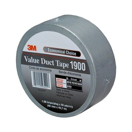 DuctTape 3M 1900 Economy 50 mm x 50 meter zilver