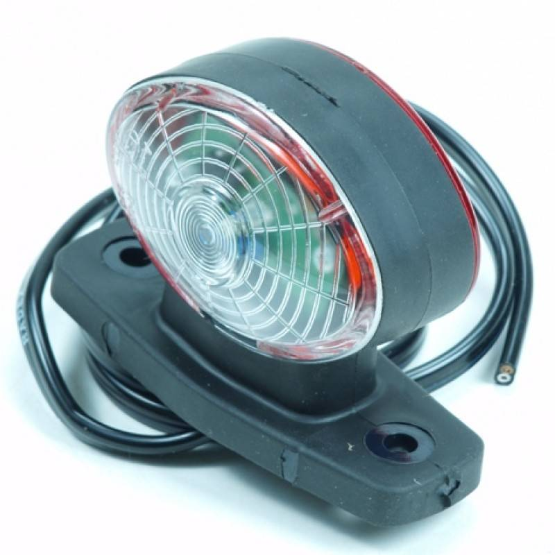 Breedtelicht halfrond LED links/rechts 12 volt