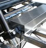 Eduard Eduard achterwaarts kipper 3000 kg elektrisch extern laden & handpomp 310x180 cm - inclusief oprijplaten & uitzetsteunen