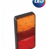 AWD Achterlicht verticaal 80x150x24 mm - 3 functies