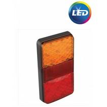 Achterlicht LED 80x150 mm 3 functies