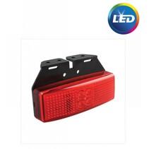 Zijmarkeringslamp Rood LED met houder