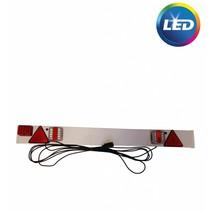 LED lichtbalk 137 cm - 7 polig - 9 mtr kabel