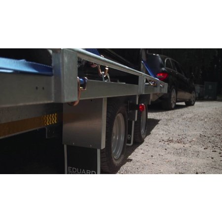 Eduard Eduard autotransporter 2700 kg 406x198 cm lier, oprijplaten & reling