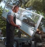 Eduard Eduard 3-zijdige kipper 3000 kg elektrisch extern laden & handpomp 310x180 cm - inclusief oprijplaten & uitzetsteunen
