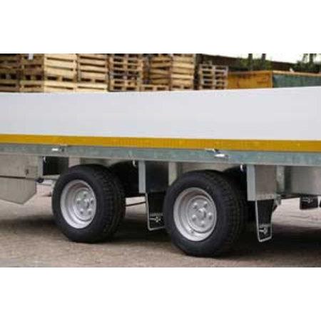 Eduard Eduard multitransporter 3000 kg 406x198 cm lier, oprijplaten & borden