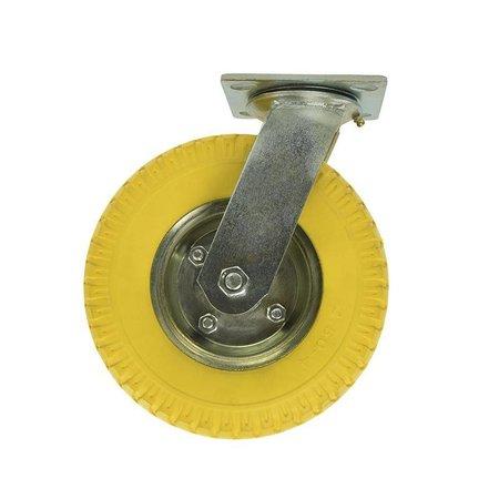 Zwenkwiel met anti lek wiel - 2.50-4 - 8 inch