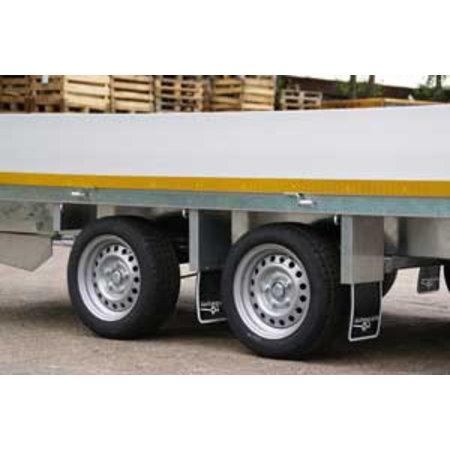 Eduard Plateauwagen 2700 kg 330x180 cm 40 cm borden