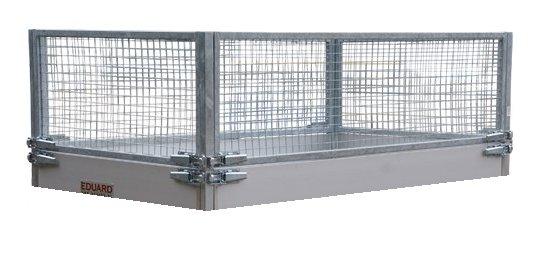 Eduard 310x160 cm loofrek voor Eduard aanhanger - 70 cm hoog
