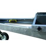 Eduard Geremde Eduard achterwaardse kipper - 310x180 cm - 3000 kg bruto laadvermogen - elektrisch, extern laden - 72 cm laadvloerhoogte - inclusief oprijplaten & uitzetsteunen
