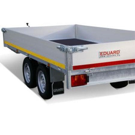 Eduard Geremde Eduard plateauwagen - 330x180 cm - 3000 kg bruto laadvermogen - 63 cm laadvloerhoogte - 30 cm borden