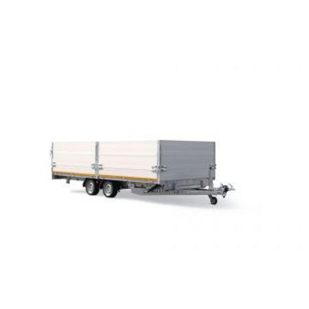 Eduard Geremde Eduard machinetransporter - 406x200 cm - 3000 kg bruto laadvermogen - elektrisch, extern laden, afstandsbediening - 63 cm laadvloerhoogte