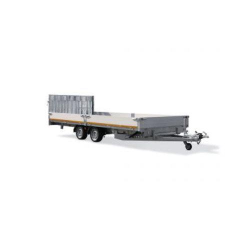 Eduard Geremde Eduard machinetransporter - 406x220 cm - 2700 kg bruto laadvermogen - elektrisch, extern laden - 56 cm laadvloerhoogte - 30 cm borden