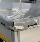 Op maat gemaakt vlakzeil voor EDUARD aanhanger 260x150 cm