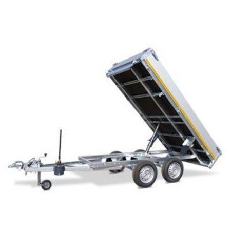 Eduard 310x160 cm - 2000 kg - elektrisch met afstandsbediening - voorzien van 40 cm borden en oprijplaten