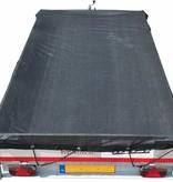 Aanhangwagennet 300x180 cm (fijnmazig gaasnet) Zwart