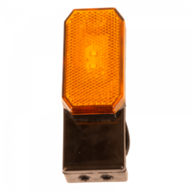 Oranje Zijmarkeringslamp - L/R - 12-24V - inclusief steun