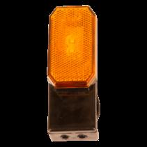 Zijmarkeringslamp - L/R - 12-24V - inclusief steun