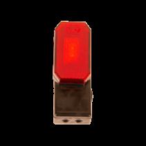 Rode Zijmarkeringslamp - L/R - 12-24V - inclusief steun