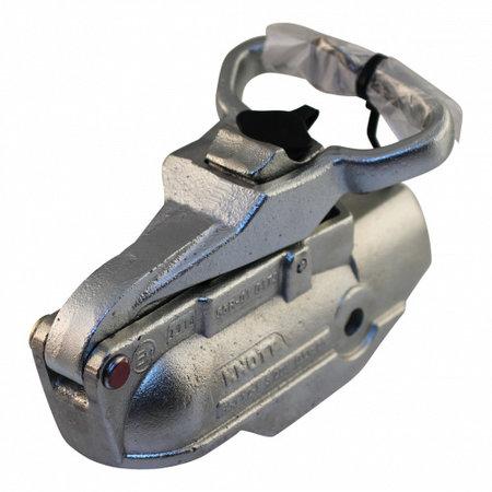 KNOTT Geremde Knott AV50 koppeling met ingebouwd slot 2700 kg rond 50 mm