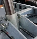 Chapel hydraulique 3-traps cilinder voor kipper - 12000 kg