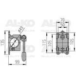 AL-KO 300 kg neuswiel klem Alko 48mm