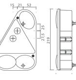 Aspock Aspock Earpoint 3 - rechts - voorzien van connector aansluiting