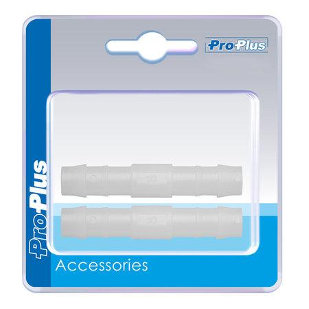ProPlus Slangtule recht - 10 mm - 2 stuks - verpakt in blister