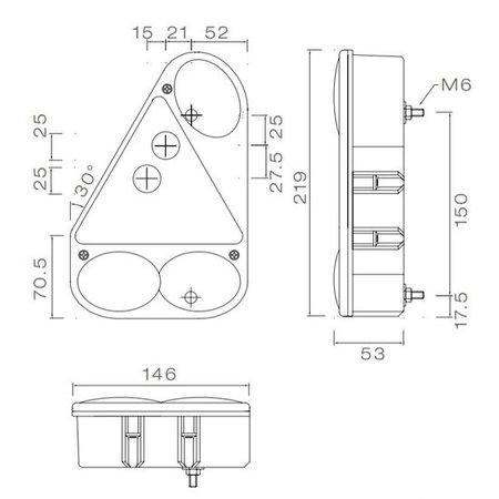 Aspock Aspock Earpoint 3 - links - voorzien van connector aansluiting